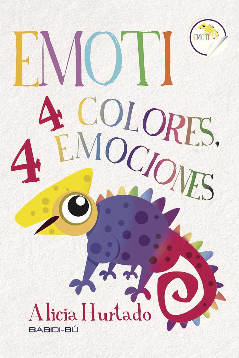 EMOTI: 4 COLORES, 4 EMOCIONES: portada