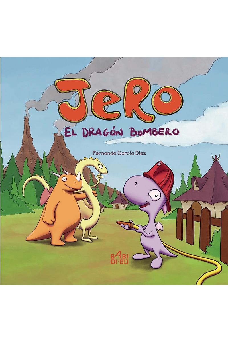 Jero, el dragón bombero: portada