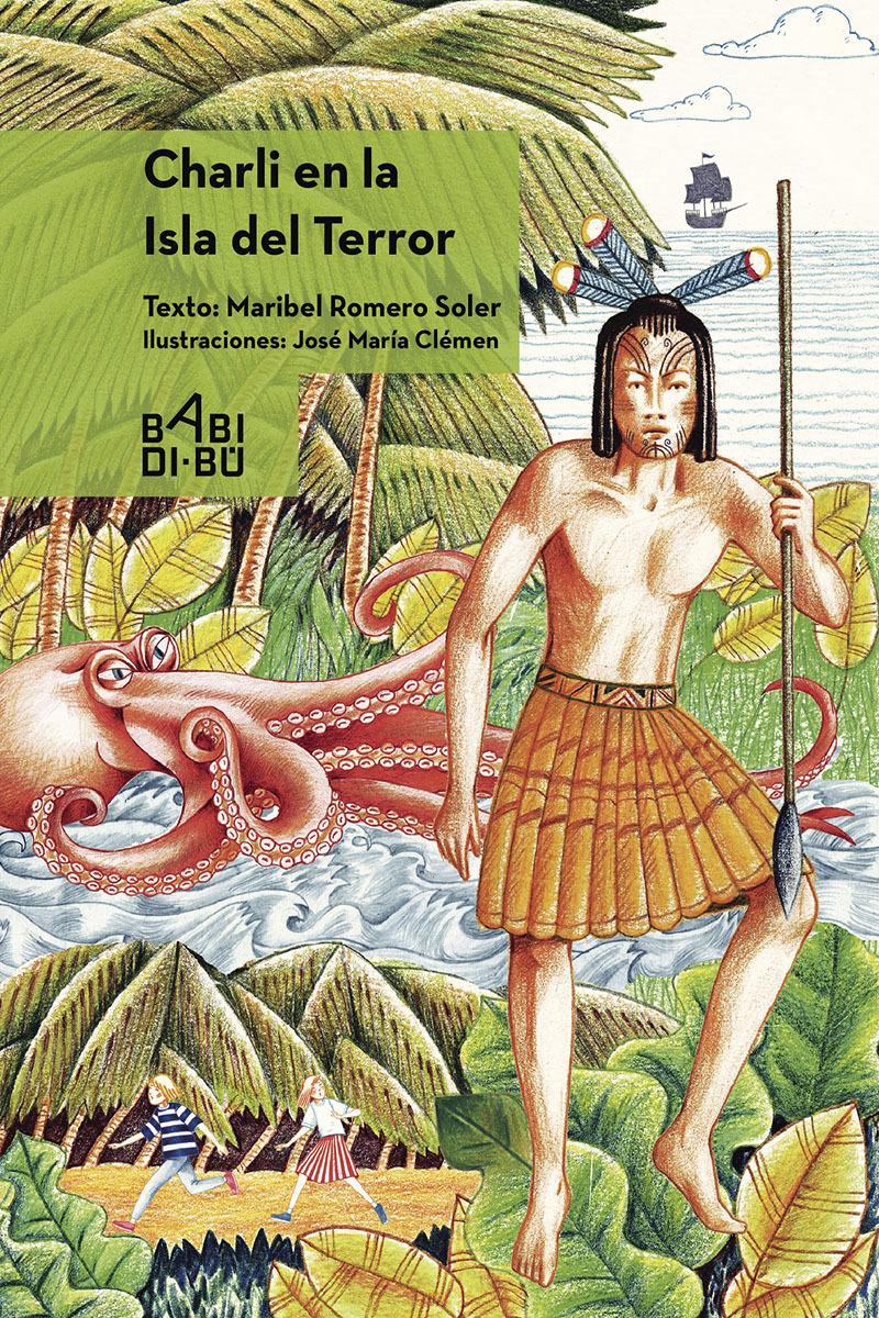 Charli en la isla del terror: portada