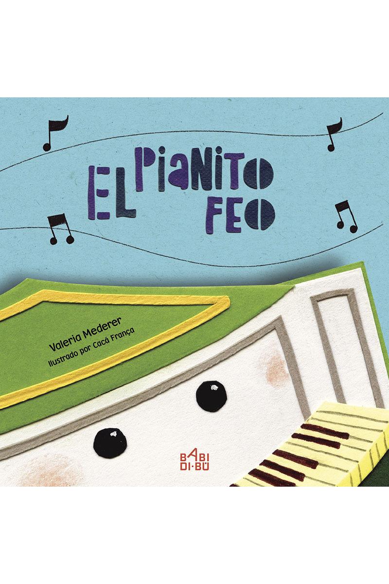 El pianito feo: portada