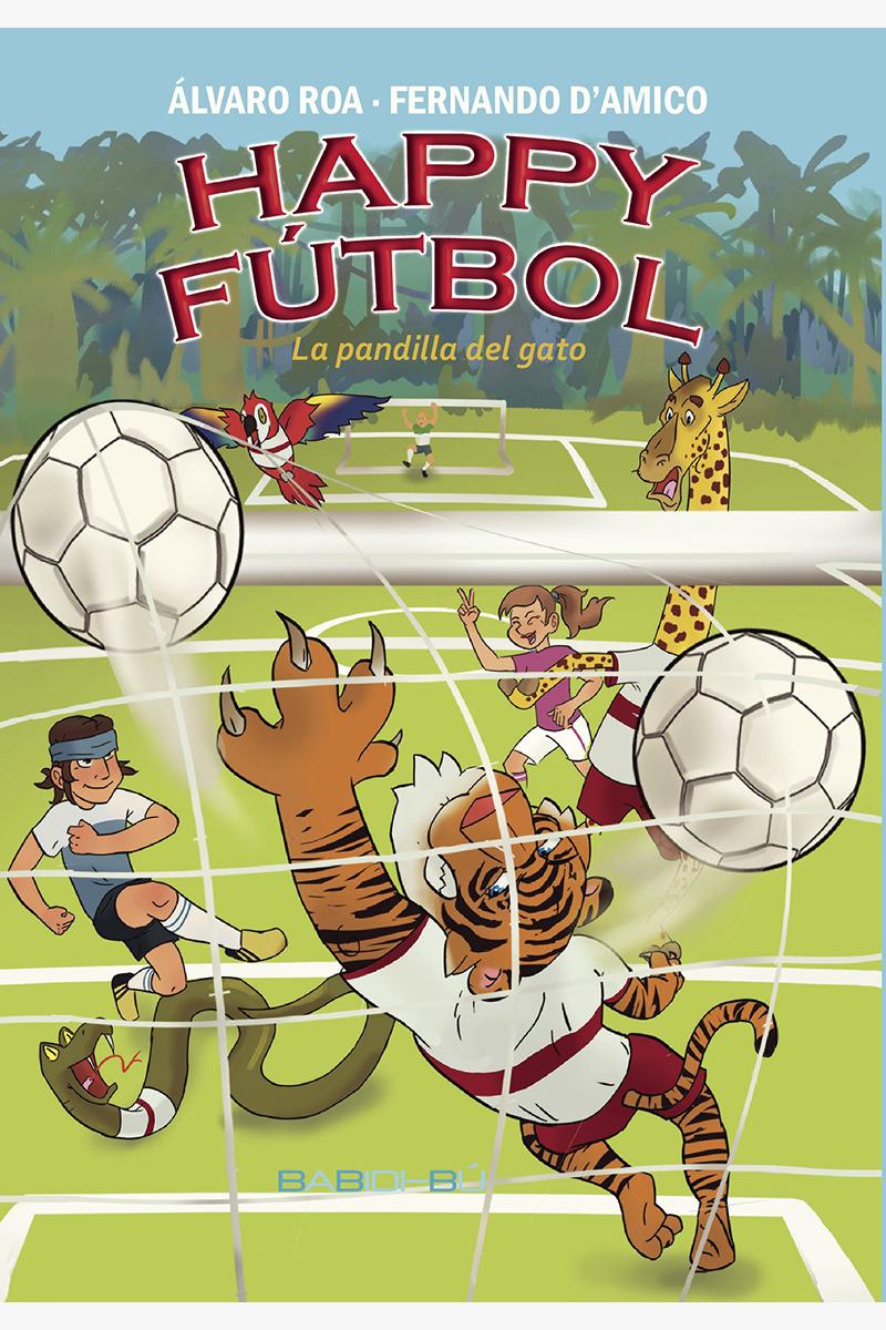 Happy Fútbol, la pandilla del gato: portada