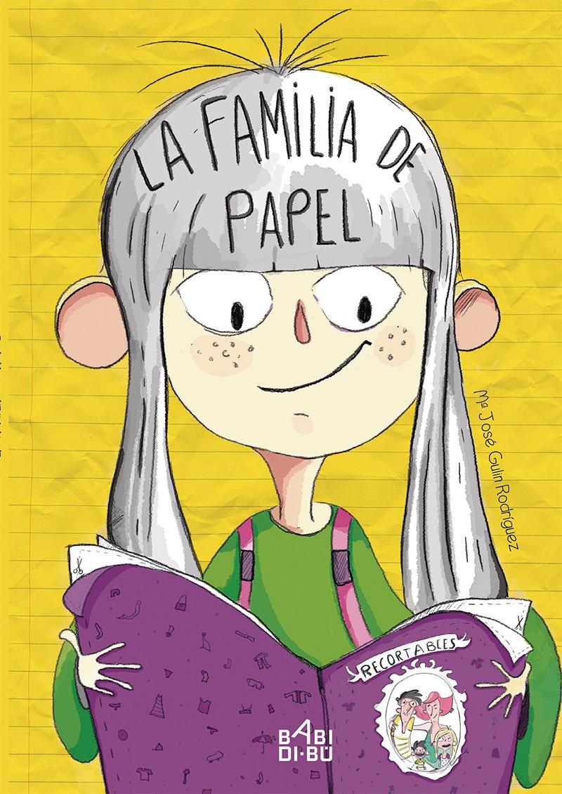 La familia de papel: portada