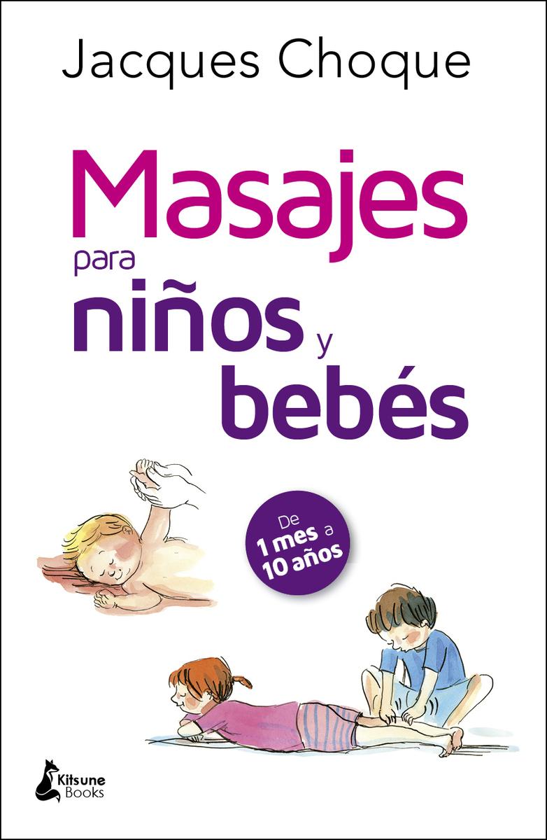 Masajes para niños y bebés: portada
