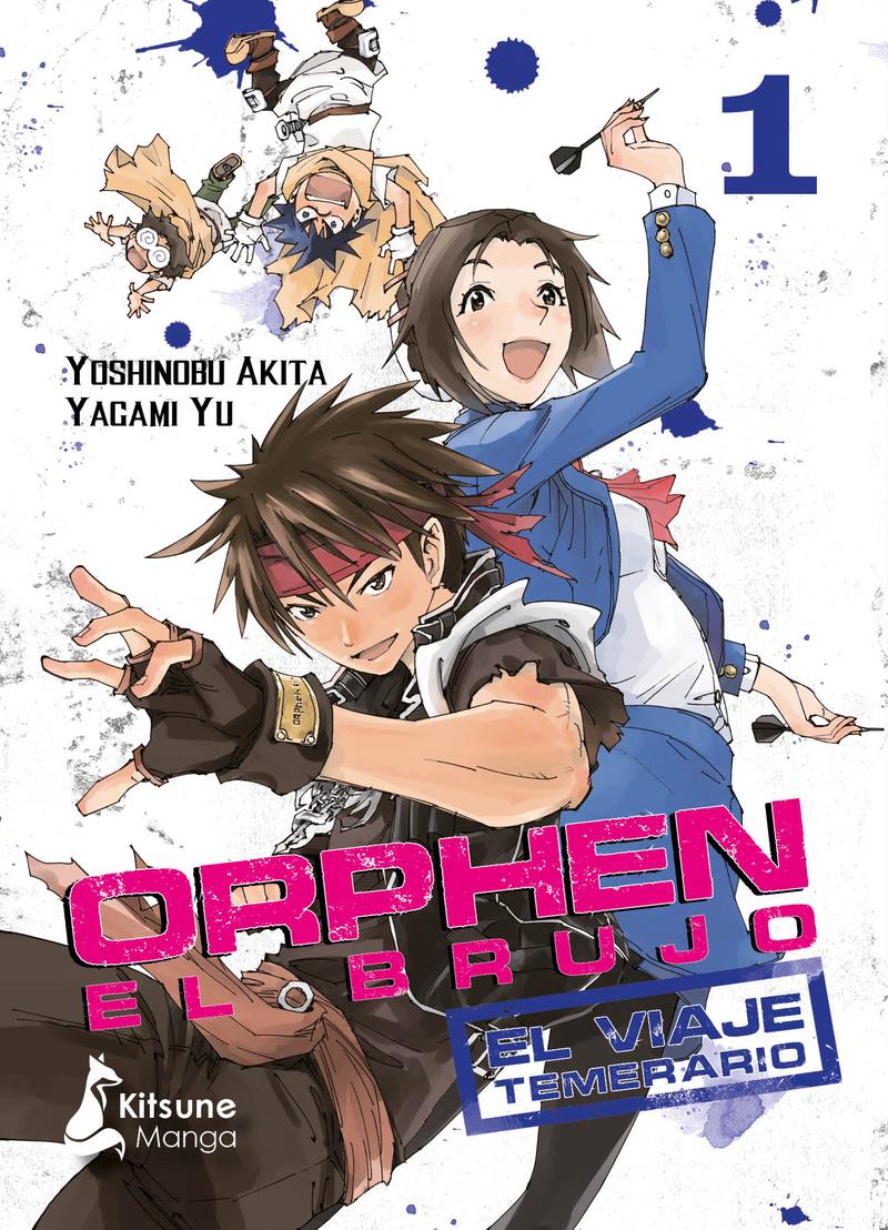 Orphen el Brujo: el viaje temerario, vol. 1: portada