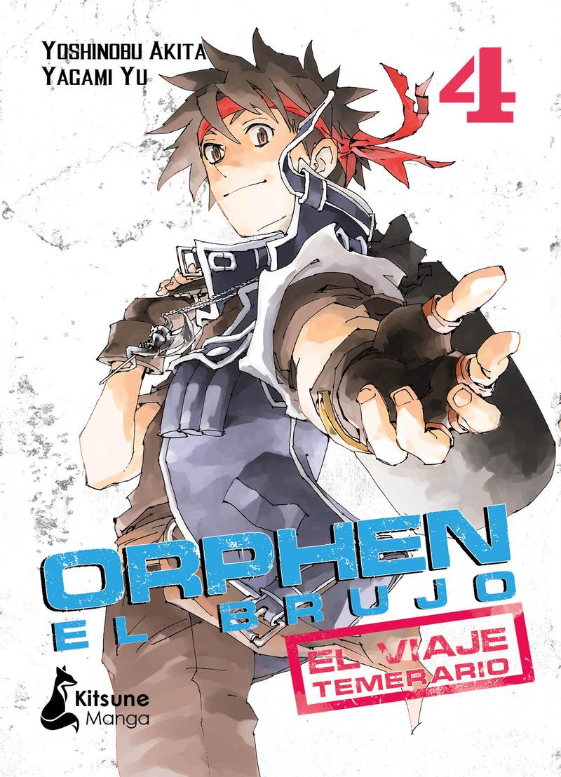 Orphen el Brujo: el viaje temerario, vol. 4: portada