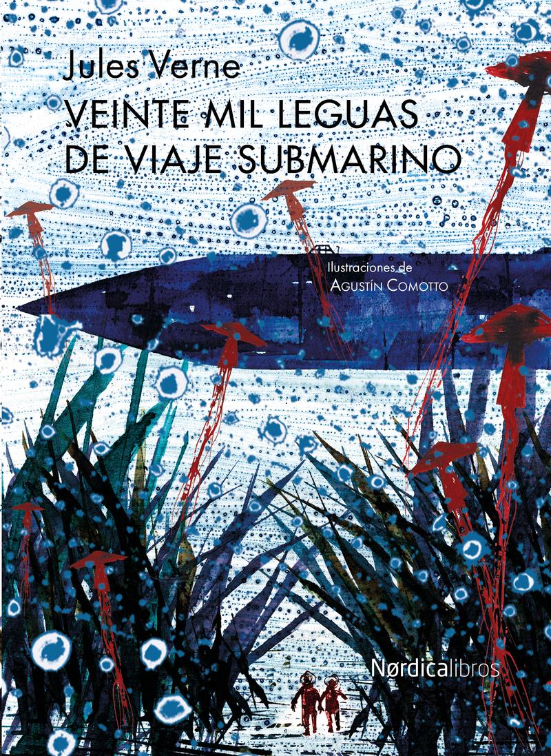 Veinte mil leguas de viaje submarino. Nueva edición: portada