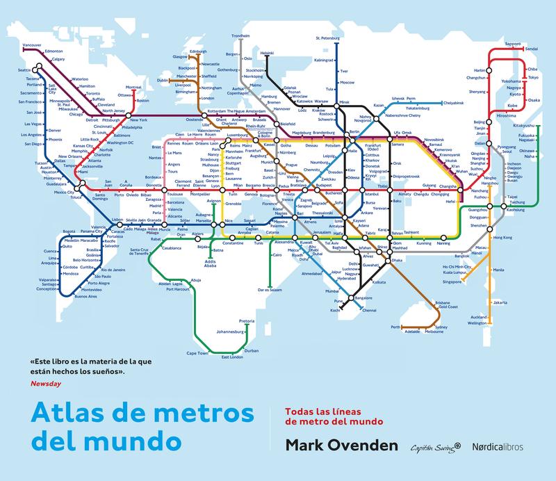 Atlas de metros del mundo (2ª edición): portada