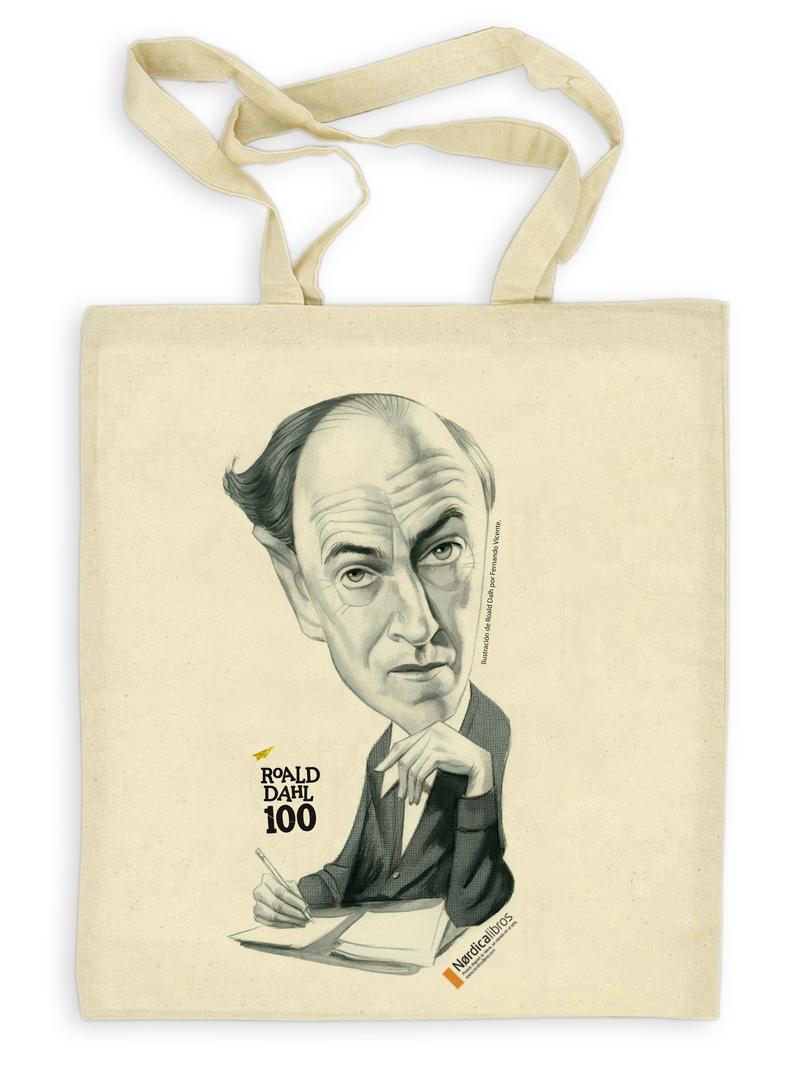 Bolsa centenario Roald Dahl: portada