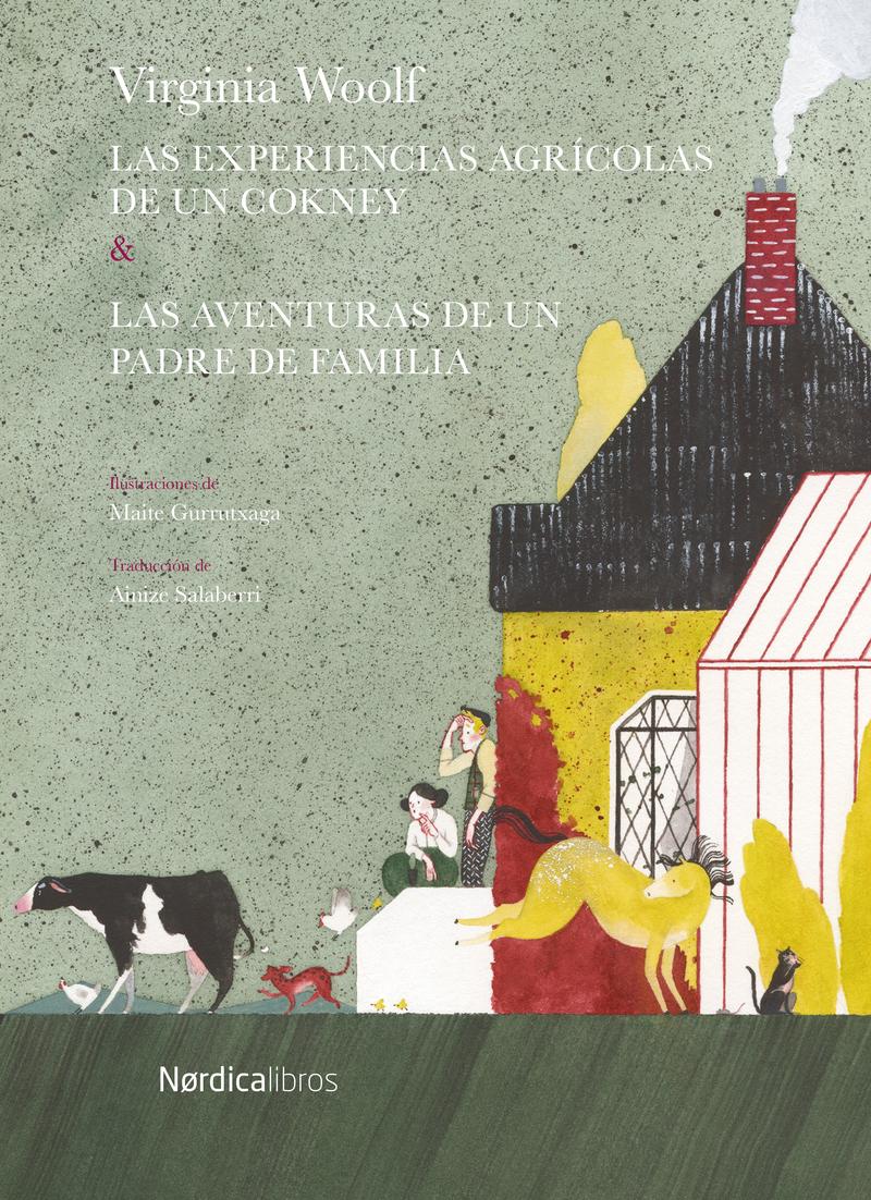 Las aventuras agrícolas de un cockney.: portada