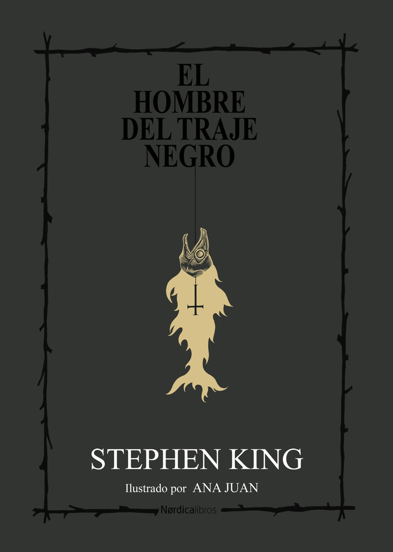 El hombre del traje negro: portada