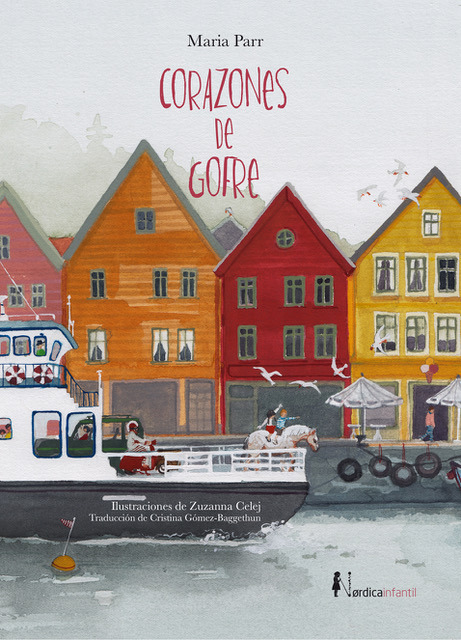 Corazones de gofre (2.ª edición): portada