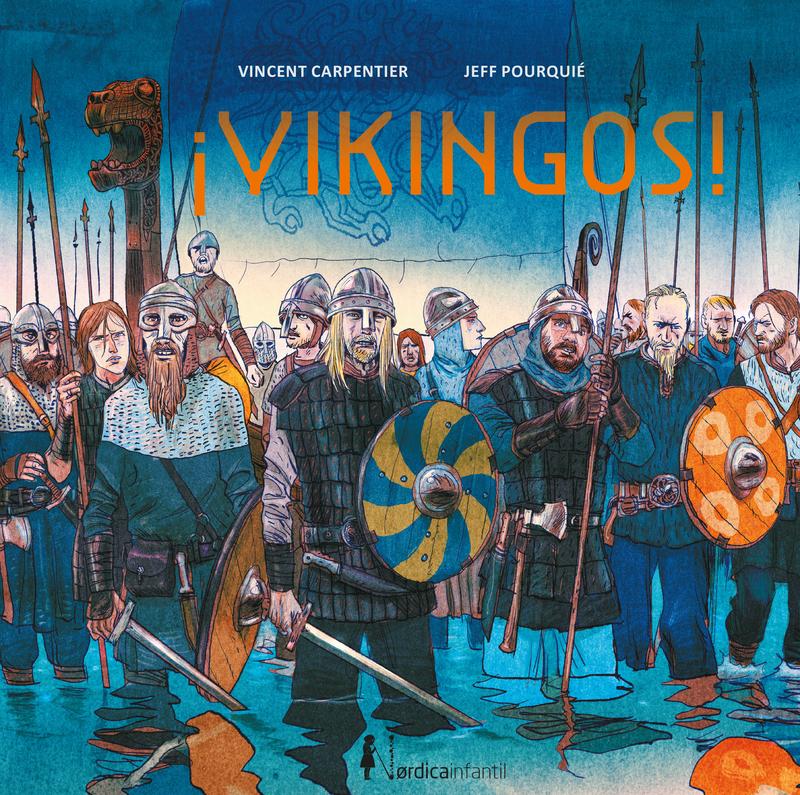 ¡Vikingos!: portada