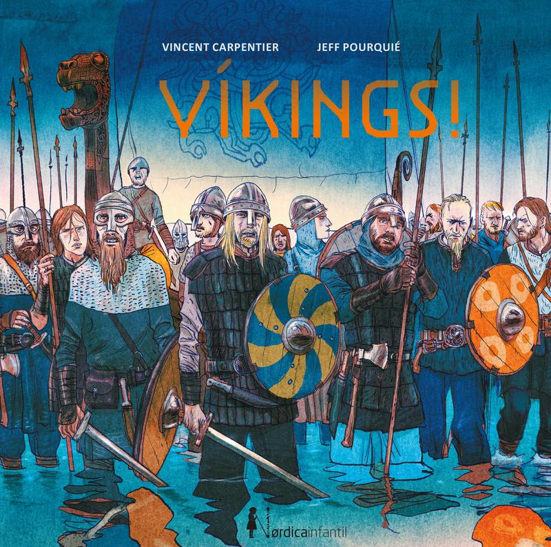 ¡Vikings!: portada