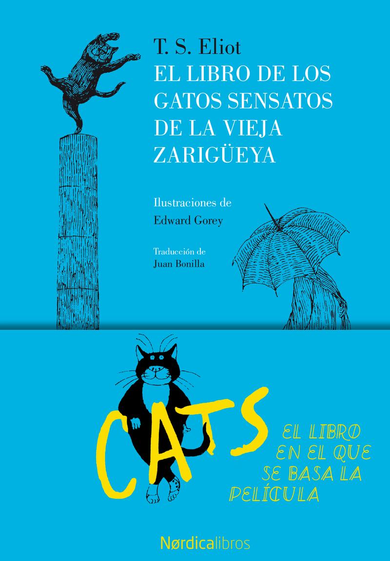 El libro de los gatos sensatos de la vieja zarigüeya: portada