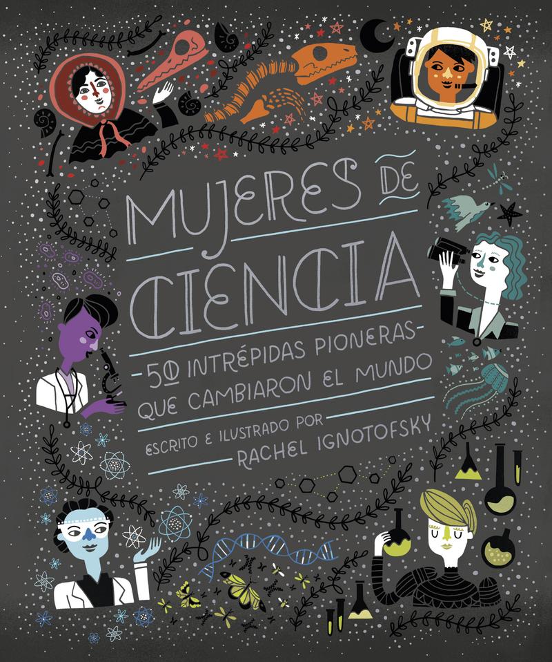 Mujeres de ciencia (3.ª edición): portada