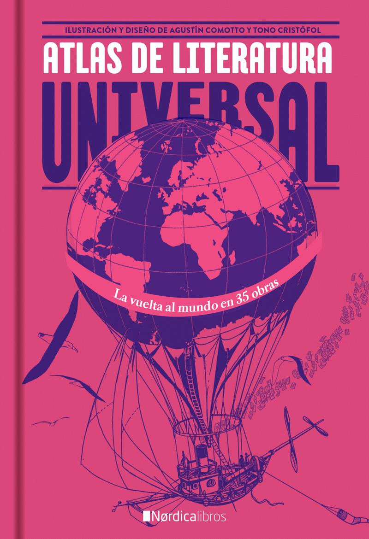 Atlas de la literatura universal (2ª edición): portada