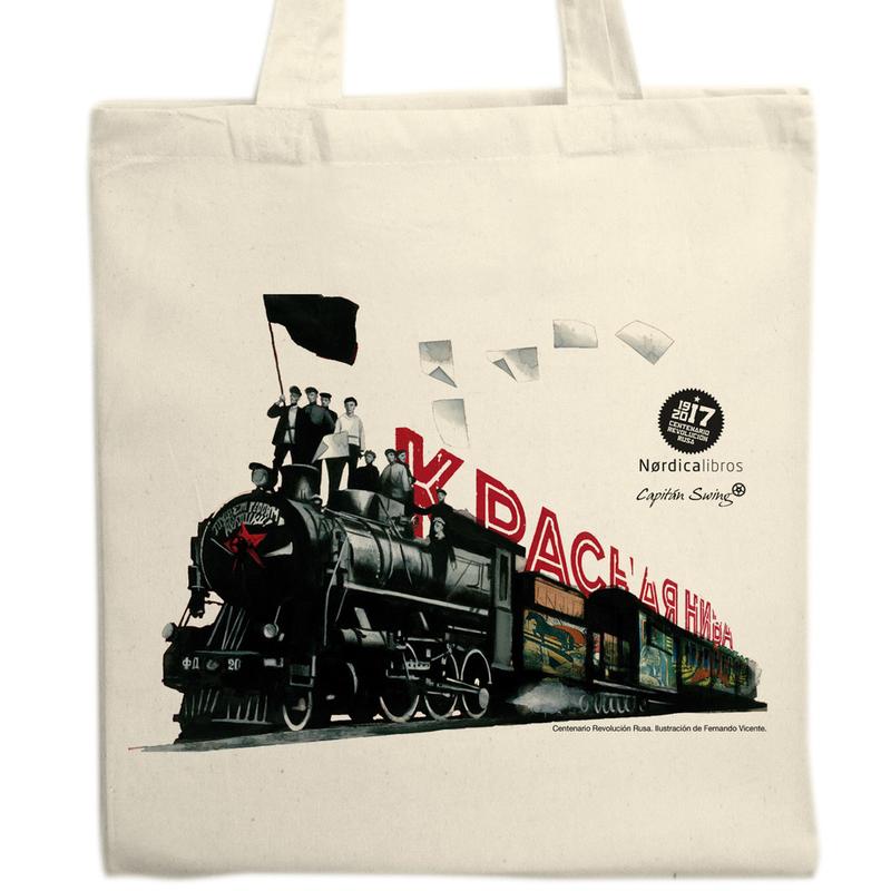 Bolsa  Centenario Revolución Rusa (tren): portada