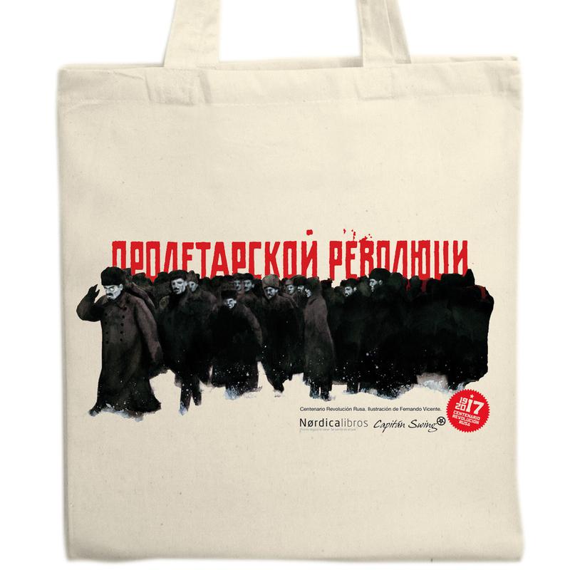 Bolsa  Centenario Revolución Rusa (soldados): portada