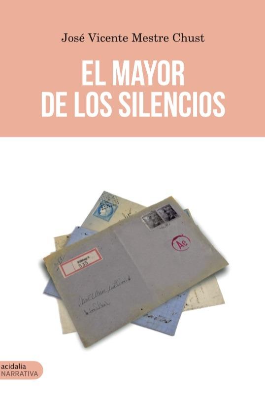 El mayor de los silencios: portada