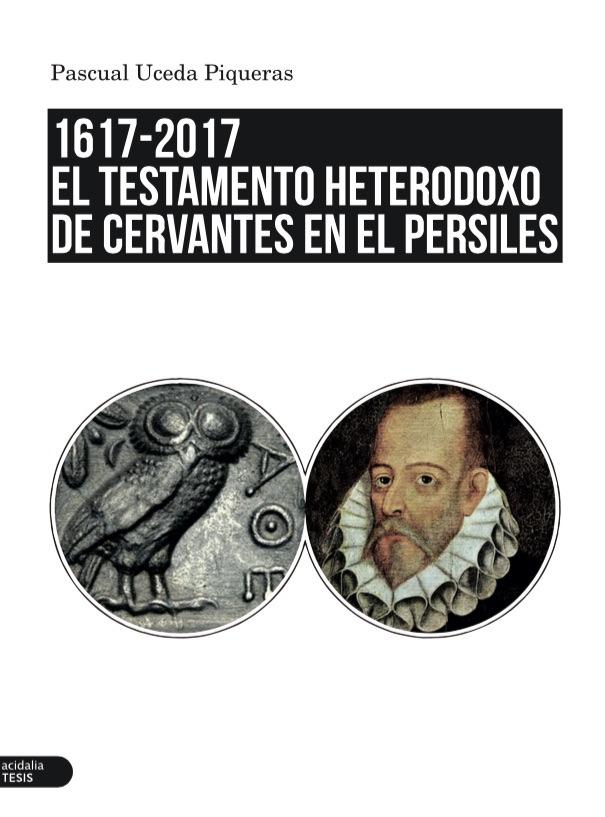 El testamento heterodoxo de Cervantes en el Persiles: portada