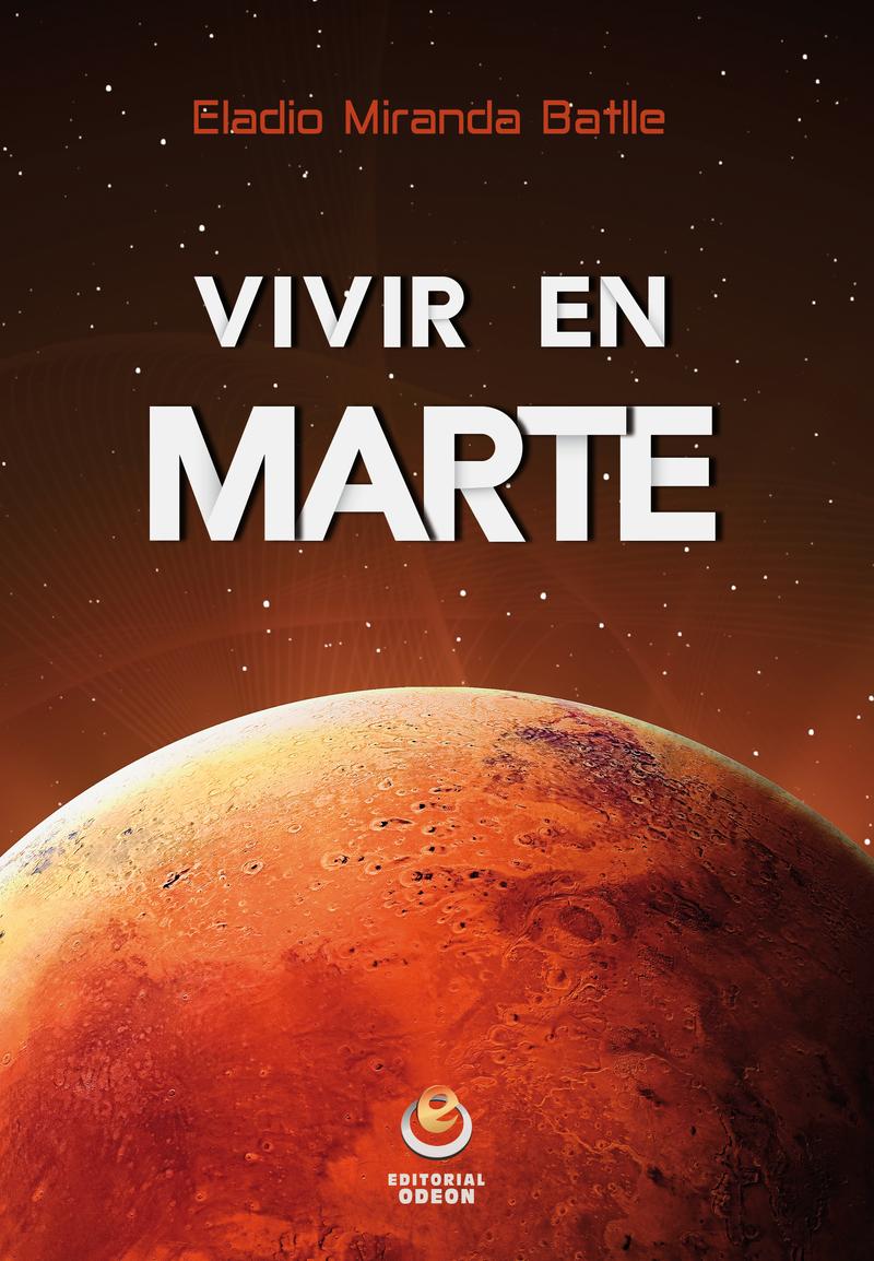 Vivir en Marte: portada