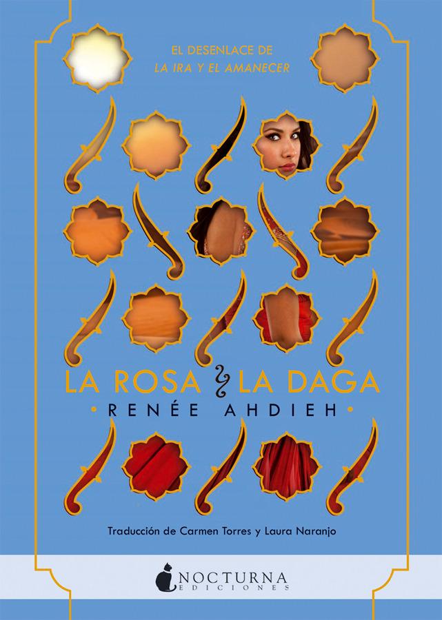 LA ROSA Y LA DAGA: portada