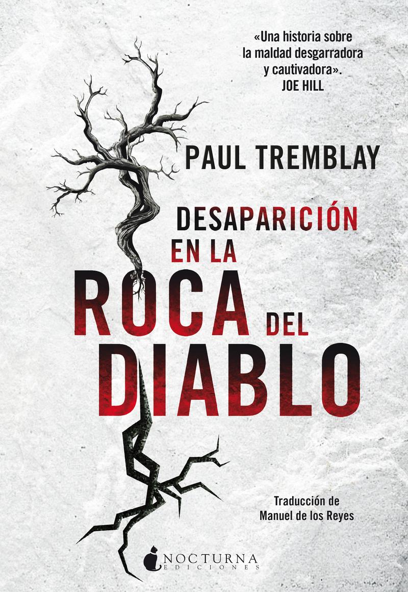 DESAPARICIÓN EN LA ROCA DEL DIABLO: portada