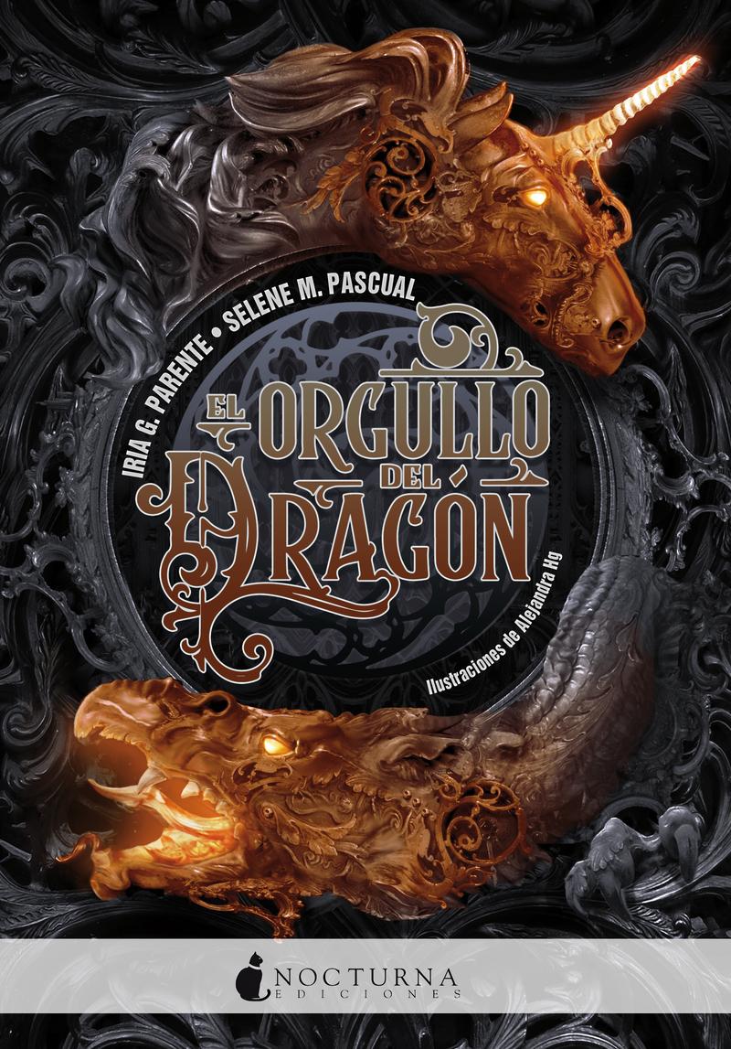EL ORGULLO DEL DRAGÓN: portada