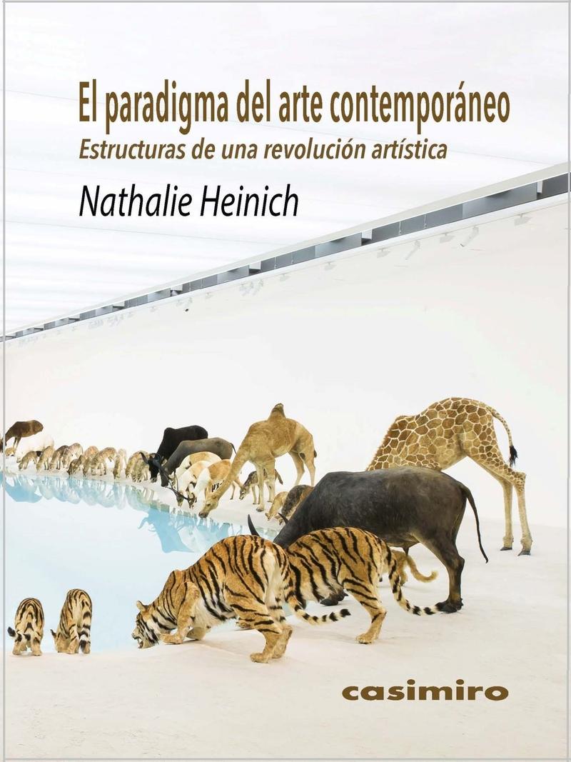 El paradigma del arte contemporáneo: portada