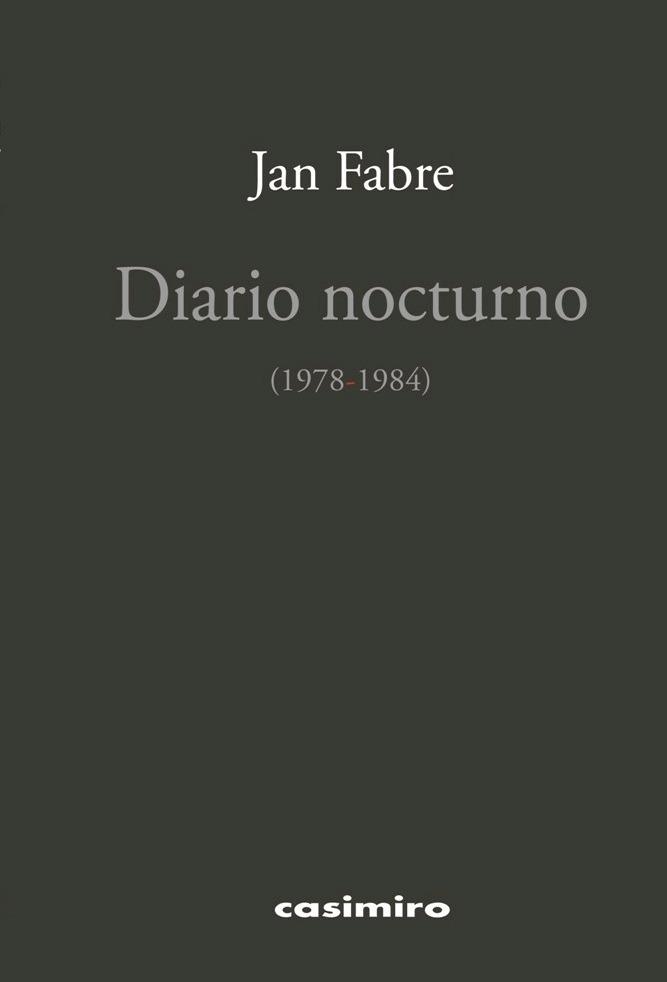 Diario nocturno (1978-1984): portada