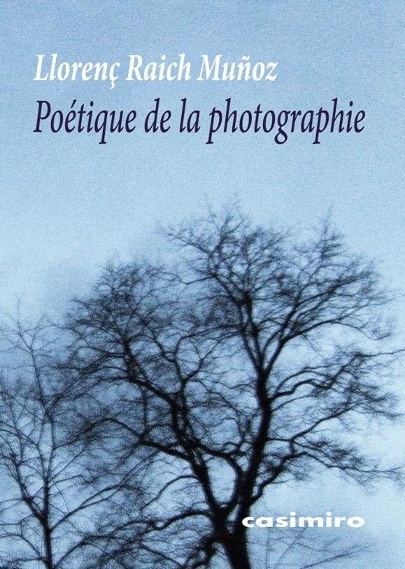 Poétique de la photographie: portada