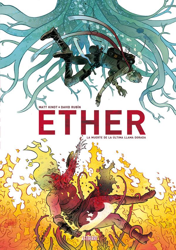 ETHER. LA MUERTE DE LA ULTIMA LLAMA DORADA 2.ª ED.: portada