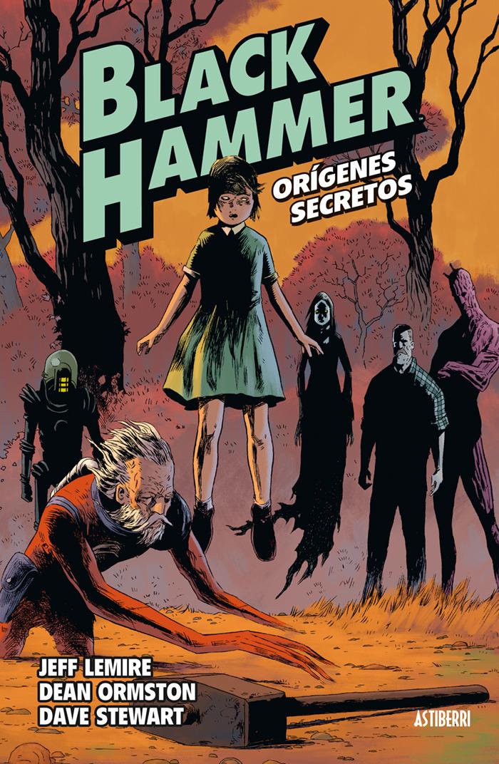 BLACK HAMMER 1. ORIGENES SECRETOS: portada
