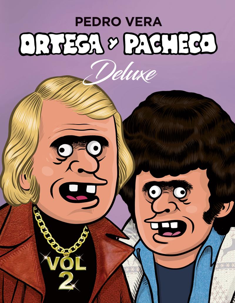 ORTEGA Y PACHECO DELUXE VOL. 2: portada
