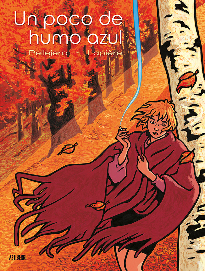 UN POCO DE HUMO AZUL: portada