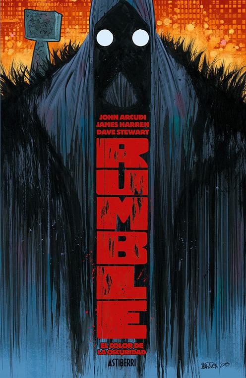 RUMBLE 1. EL COLOR DE LA OSCURIDAD 2.ª ED.: portada