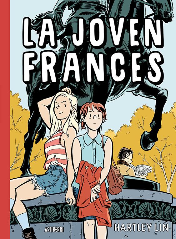 LA JOVEN FRANCES: portada