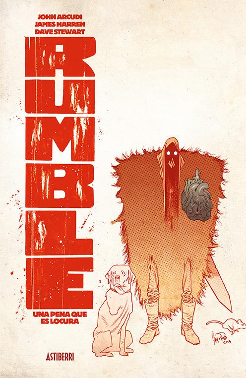 RUMBLE 2. UNA PENA QUE ES LOCURA: portada