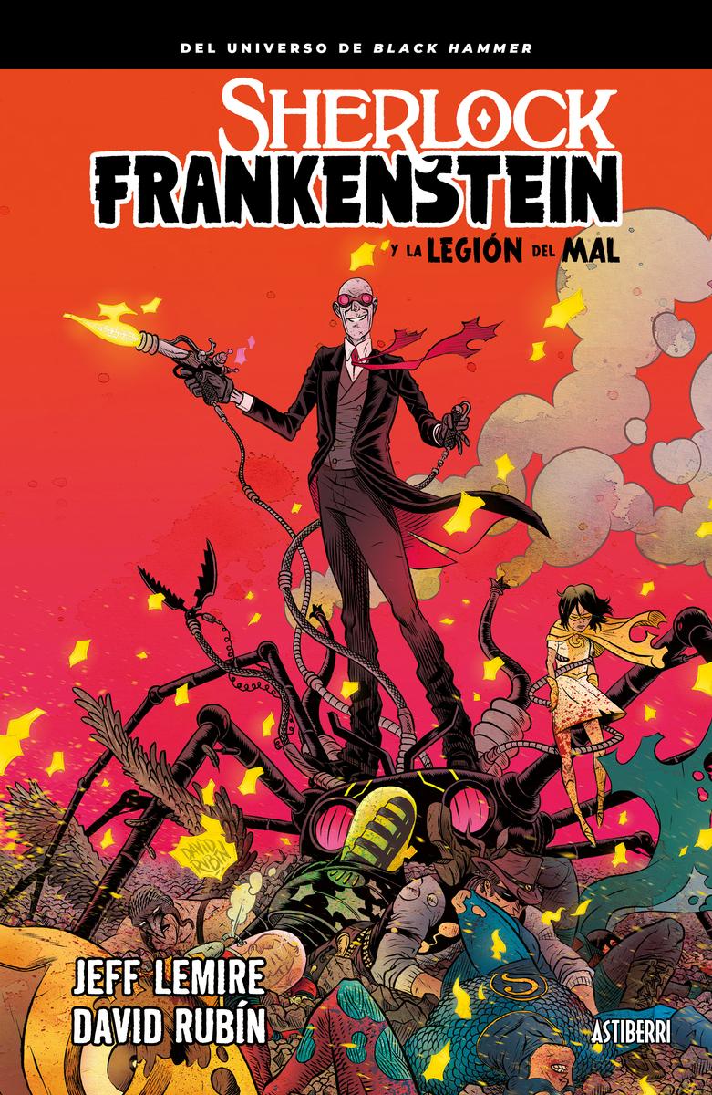 SHERLOCK FRANKENSTEIN Y LA LEGION DEL MAL: portada