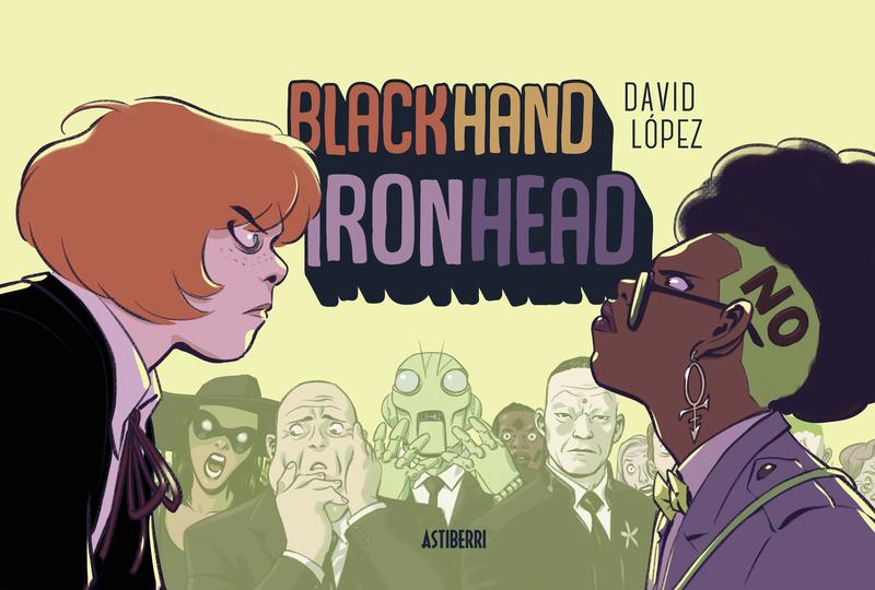 BLACKHAND IRONHEAD: portada