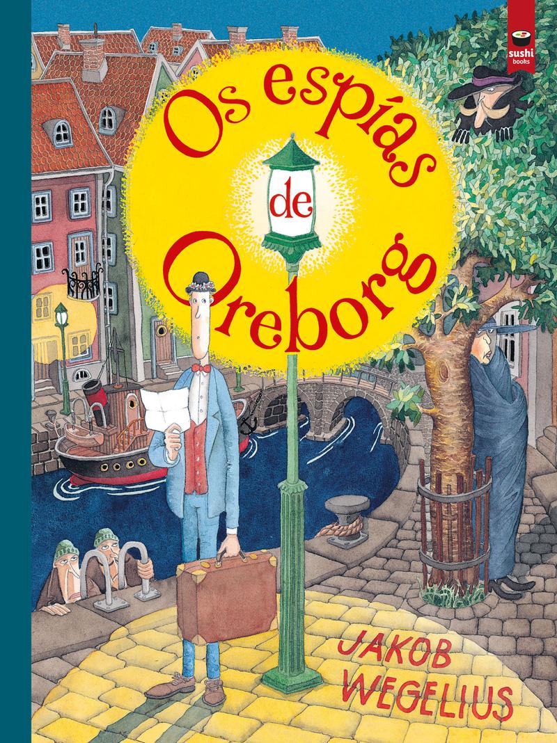 Os espías de Oreborg: portada