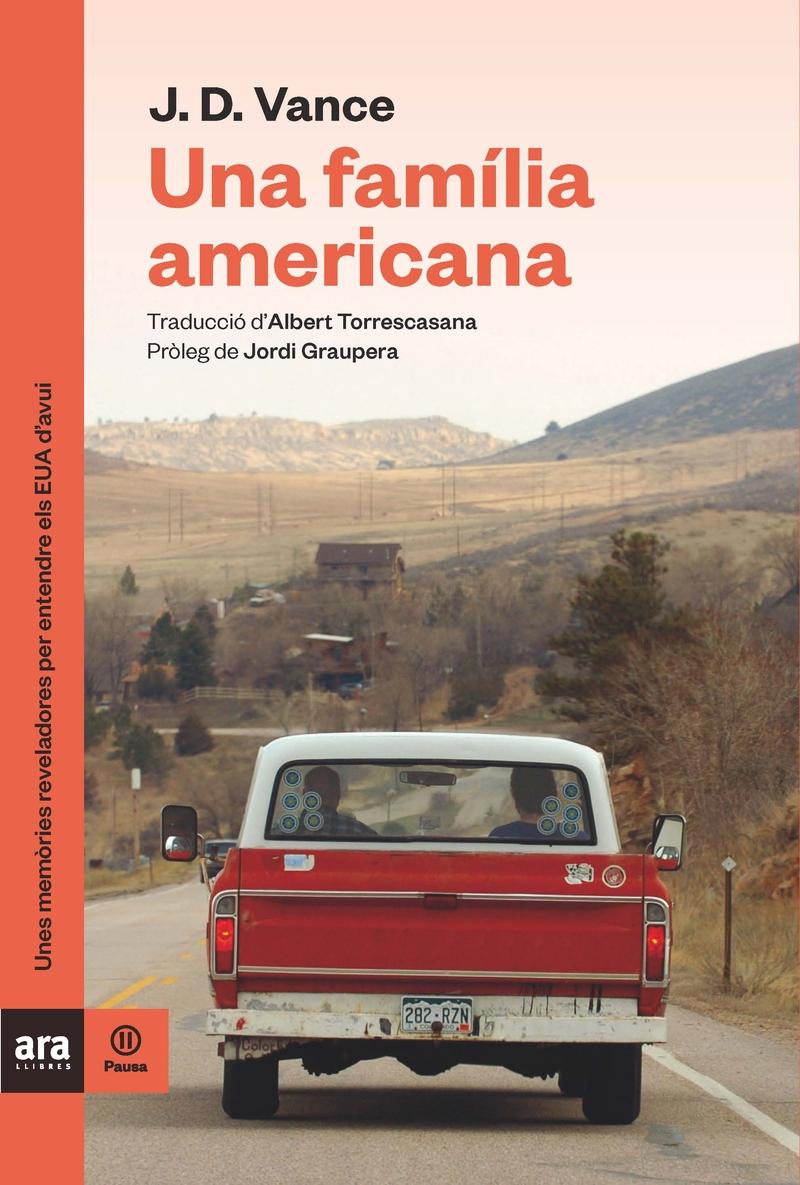 UNA FAMÍLIA AMERICANA: portada