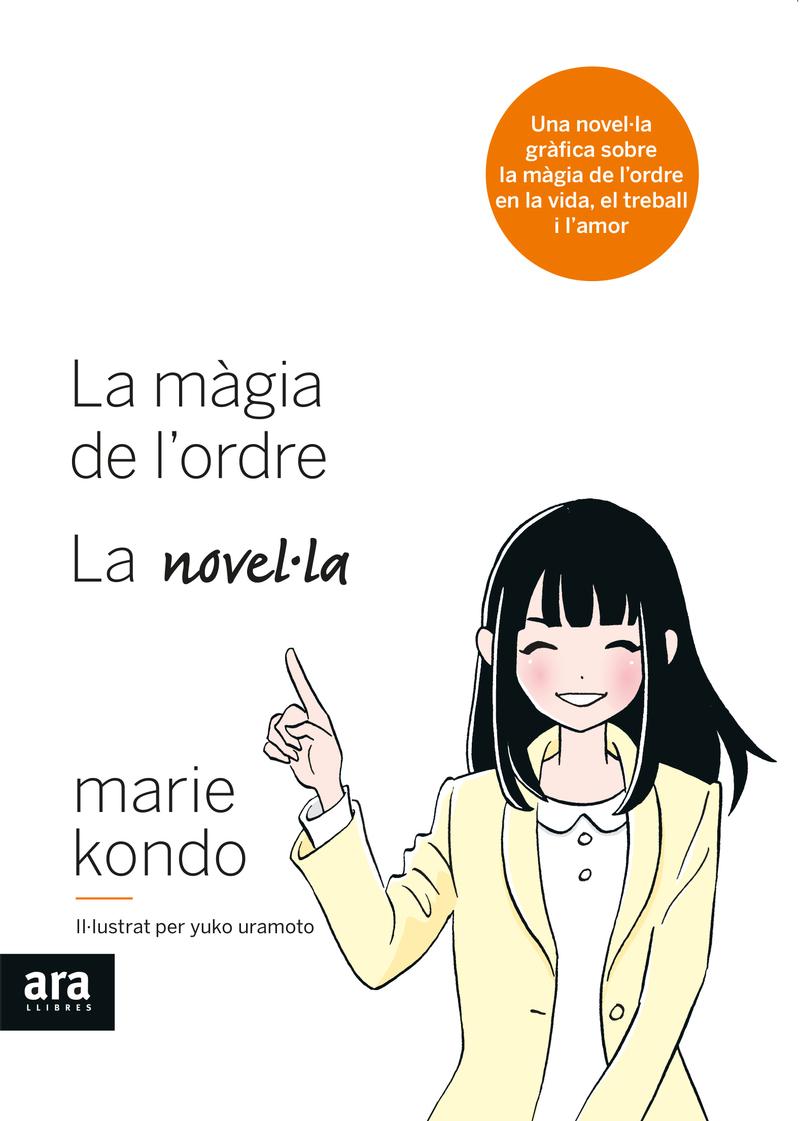MÀGIA DE L'ORDRE, LA NOVEL·LA: portada