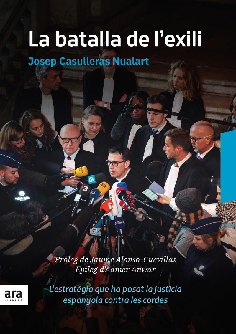 BATALLA DE L'EXILI, LA: portada