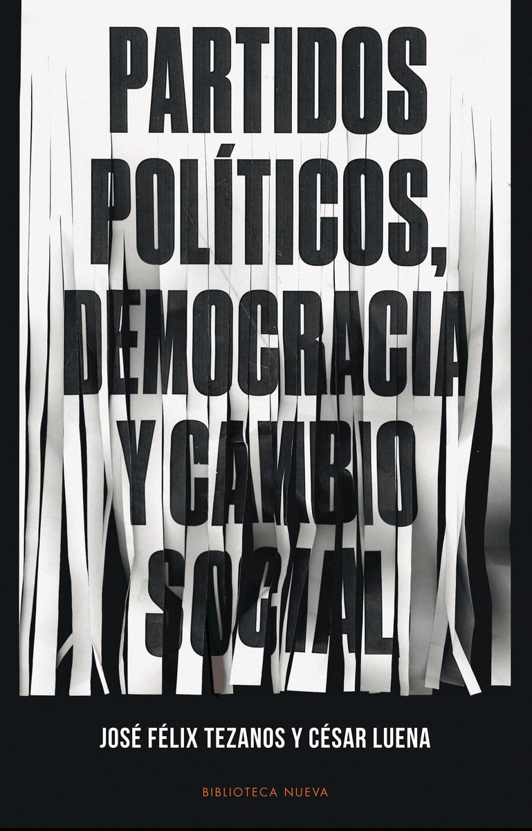 PARTIDOS POLÍTICOS, DEMOCRACIA Y CAMBIO SOCIAL: portada
