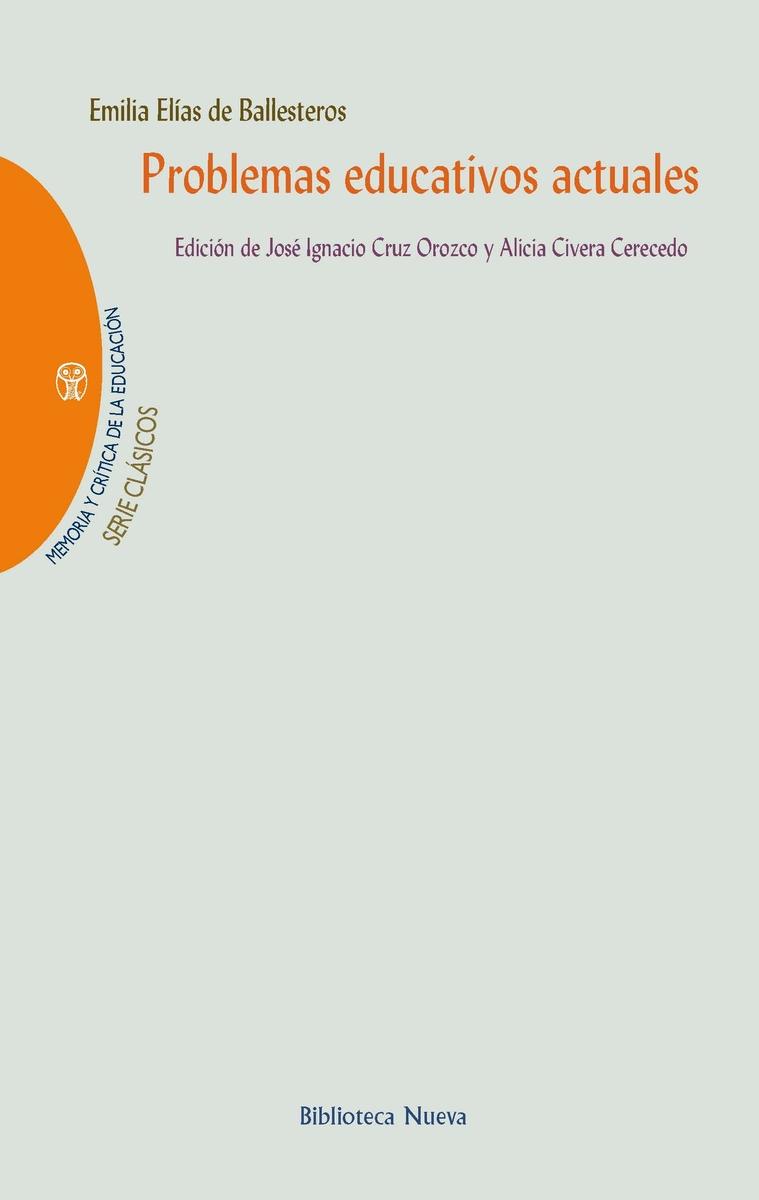 PROBLEMAS EDUCATIVOS ACTUALES: portada