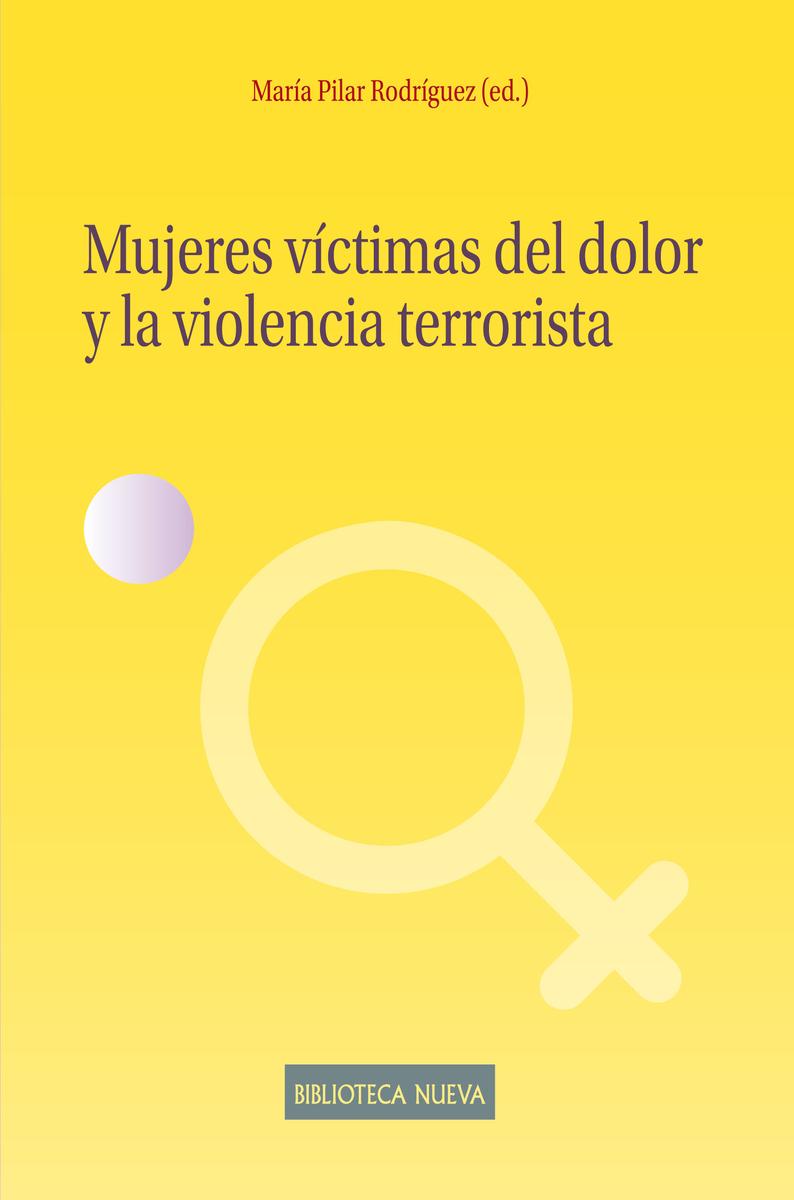 MUJERES VÍCTIMAS DEL DOLOR Y LA VIOLENCIA TERRORISTA: portada