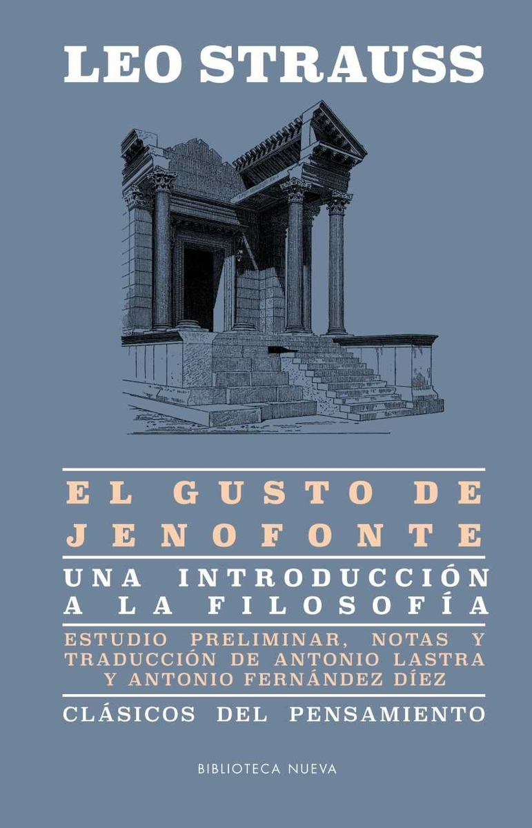 EL GUSTO DE JENOFONTE: portada