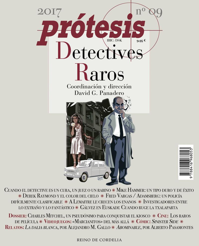Prótesis - Publicación consagrada al crimen: portada