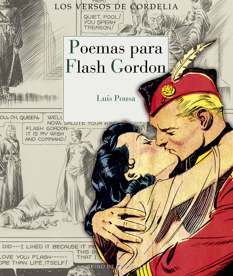 POEMAS PARA FLASH GORDON: portada